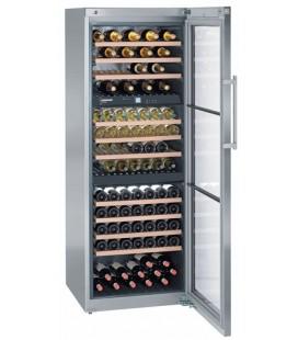 Liebherr WTes 5872 Libera installazione Acciaio inossidabile 178 bottiglia/bottiglie