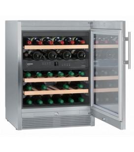Liebherr WTes 1672 Vinidor Libera installazione Acciaio inossidabile 34 bottiglia/bottiglie