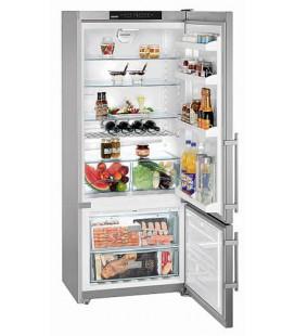 Liebherr CNPesf 4613 Comfort NoFrost frigorifero con congelatore Libera installazione 420 L Argento